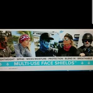 Sa COMPANY Accessories - SA Pink Crow Tubular Bandana face & sun shield